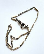 "Pocket Watch Chain Fob Marked 13"" H07 Vintage or Antique Keene 12k Gold Filled"