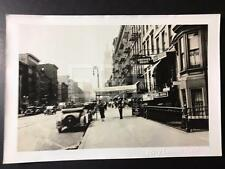 8/11/36 W on 14th St Bar and Grill Manhattan NYC Old Photo PERCY SPERR 296A