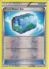 POKEMON CARD XY PRIMAL CLASH - FRESH WATER SET 129/160 REV HOLO - TRAINER