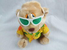 Luv Pets RUSS SUNGLASSES BEACH LIFE HAWAIIAN SHIRT STUFFED BEAR PLUSH MISSING HA