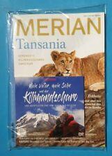 MERIAN Tansania mit DVD Kilimandscharo 2019 ungelesen/unbenutzt 1A abs. TOP