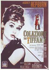 COLAZIONE DA TIFFANY Breakfast at Tiffany's (1961) LOCANDINA POSTER 24x17 NUOVA