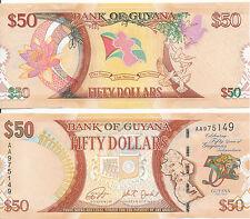Guyana - 50 Dollars 2016 UNC - Pick New, Gedenkausgabe