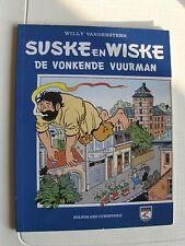 Speciale Suske en Wiske De vonkende vuurman met blauwe omslag 1995 !!