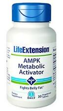 3X $20.99 Life Extension AMPK Metabolic Activator burn abdominal fat cholesterol