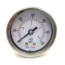 Pressure Gauge 0-60psi Y006050B4D Wika 50mm Y006050B4D *New*