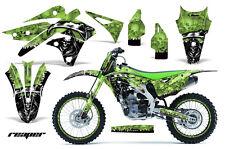 AMR Racing Kawasaki KX250 Graphic Number Plate Kit Bike Decal MX Part 13-15 RP G