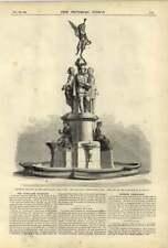 1875 Park Lane Fountain Thorneycroft Baptist Preachers Brock Chown