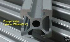 3D printer frame only T-Slot Aluminum Extrusion 2020 per 1000mm/ 39.4''