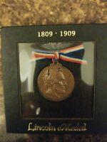 1909  Lincoln Medal By Bela Lynn Pratt