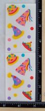 Mrs Grossma PARTY HATS Stickers 1 Full Strip