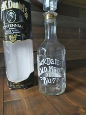 More details for vintage jack daniels tennessee whiskey 1904 gold medal replica bottle and box.