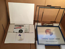 talking tactile tablet Touch Graphics TTT Programs Audio Braille System T3