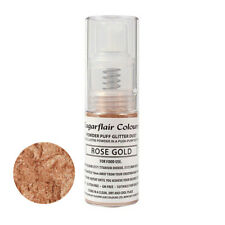 Sugarflair Powder Puff Edible Glitter Spray bez aerozolu 10g - RÓ?OWE Z?OTO
