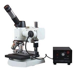 Radical 2000x Metal Alloy Grain Testing Metallurgical Top Light Microscope w ...