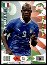 Panini Road to Brazil 2014 Adrenalyn XL Mario Balotelli Italia Star Player