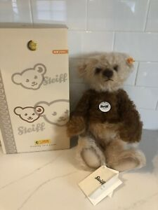 STEIFF Classic Teddy Bear Latte Macciato NEW with Box and Tags