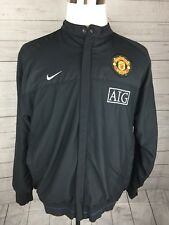 Manchester United AIG jacket Large Vintage, Very Rare! Pockets & Zippers!