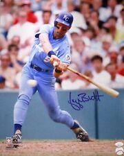 Royals GEORGE BRETT Signed 16x20 Photo #7 AUTO - HOF '99 - 1985 WS Champ - JSA