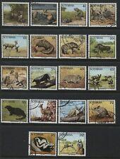 Botswana 1992 complete definitive set used