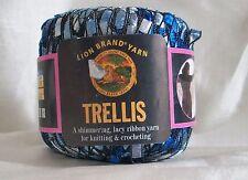 Lion Brand Trellis Yarn Ocean Blue tones