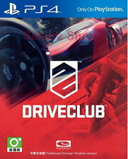 New Sony PS4 Games DriveClub HK Version Chinese/English Subs