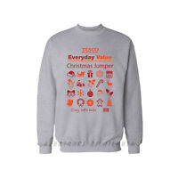 TESCO EVERYDAY VALUE CHRISTMAS JUMPER EVERY LITTLE HELP CHRISTMAS GIFT