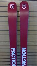 USED FACTION CANDIDE THOVEX 3.0 182CM SKIS WITH ADJUSTABLE WARDEN 11 BINDINGS
