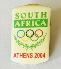 Athens 2004 Olympic Games South Africa Laurel Wreath Pin Badge Vintage (E9)
