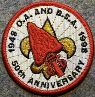 1948/1998 O.A. & B.S.A. 50th Anniversary Order of The Arrow BSA/OA