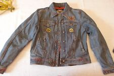 Harley Davidson giacca in jeans - originale  - size  M - donna