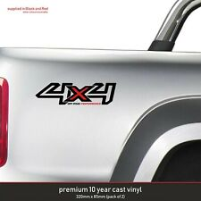 FORD RANGER 4X4 4 X 4  OFF ROAD PERFORMANCE 10 Year Cast Vinyl Decals Stickers