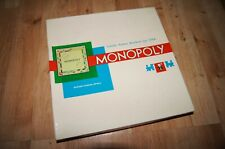 monopoly board game spiele lizenz parker brothers USA 1961 deutsch edition