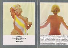 COUPURE DE PRESSE CLIPPING 1982 MARILYN MONROE   (6 pages)
