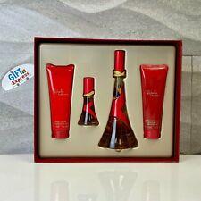 Rebelle by Rihanna Perfume 4 Pc Gift Set for Women EDP Spray 3.4 oz New.