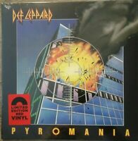 Def Leppard - Pyromania Limited Red Vinyl LP NEU OVP