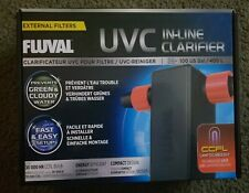 Fluval In-Line UVC In-Line Clarifier A203 100 US Gal/400 L NEW Factory Sealed