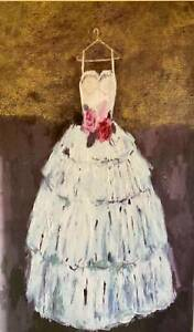 Ballet theme, Charlotte Hardy, 'Rose bodice', Giclee on canvas painting