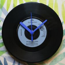 "Survivor ""Eye Of The Tiger"" Retro Chic 7"" Vinyl Record Wall Clock"
