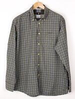Bogner Herren Flanell Freizeit Vintage Hemd Größe 42 BAZ659