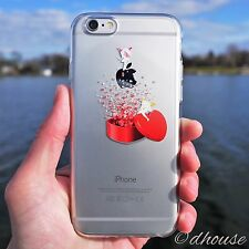 Made in Japan ** Soft Clear TPU Case Heart Angel for iPhone 6 & iPhone 6s