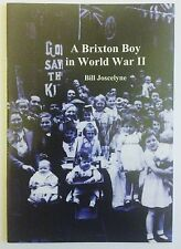 Brixton Local History - A Brixton Boy in World War II