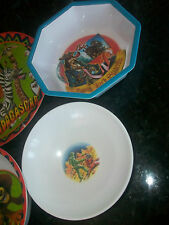 Disney's Pirates Of The Caribbean Jack Sparrow Children's Bowls ZAK & Moonwalker