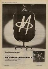 M Pop Muzik UK LP advert 1979