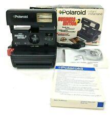 Polaroid 600 Business Edition 2 cerrar Flash Con Correa Manual 1 Cartucho y caja