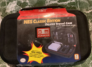 🌍 Nintendo - Deluxe Travel Case for NES Classic or SNES,New ‼️
