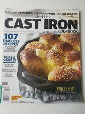 Taste of Home Cast of Iron Magazine July 2021, Short Rib, Cobbler, Lasagna