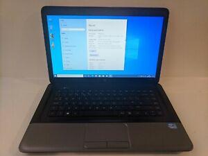 HP 250 G1 Intel Core i3-3110M 2.40GHz 6GB Ram 500GB SSD WIN 10