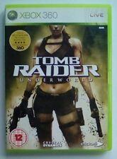 Tomb Raider Underworld sous monde Microsoft Xbox 360