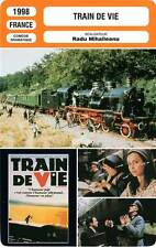 FICHE CINEMA : TRAIN DE VIE - Abelanski,Clément,Mihaileanu 1998 Train Of Life
